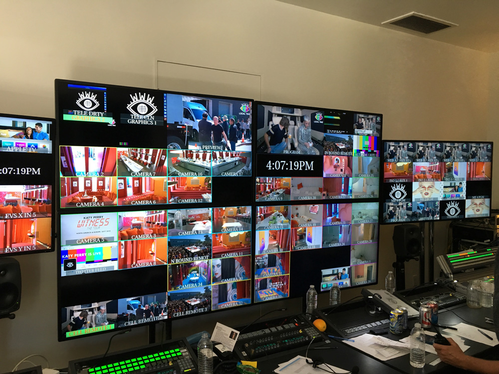 Bexel Supplies Complete Broadcast Infrastructure for Katy Perry's 'Witness World Wide'
