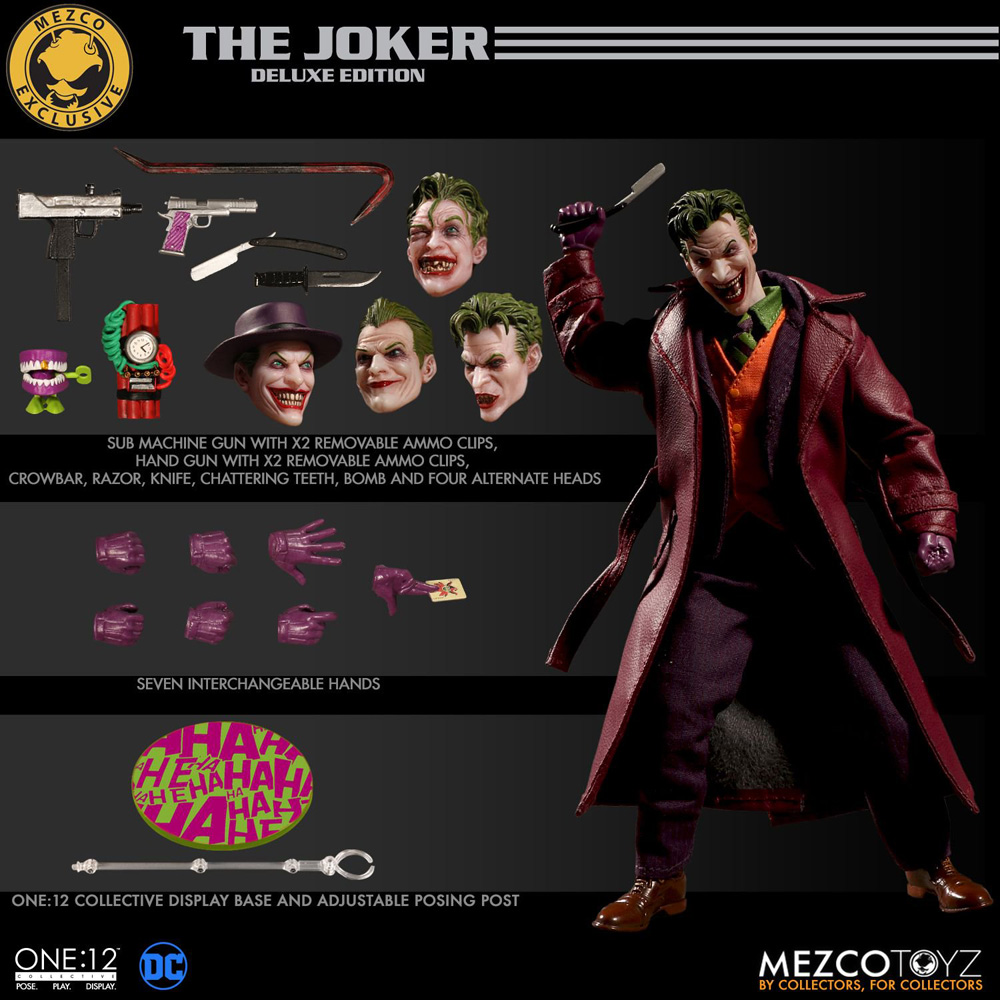 One:12 Collective The Joker: Deluxe Edition