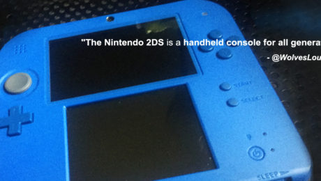 Nintendo 2DS. YBLTV Review by Wolfgang Nava.