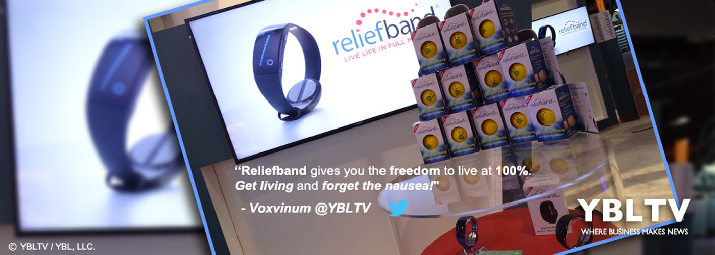 Reliefband Technologies at CES 2018.