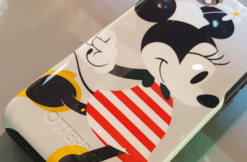 With OtterBox, Comes Minnie and Mickey Mouse.