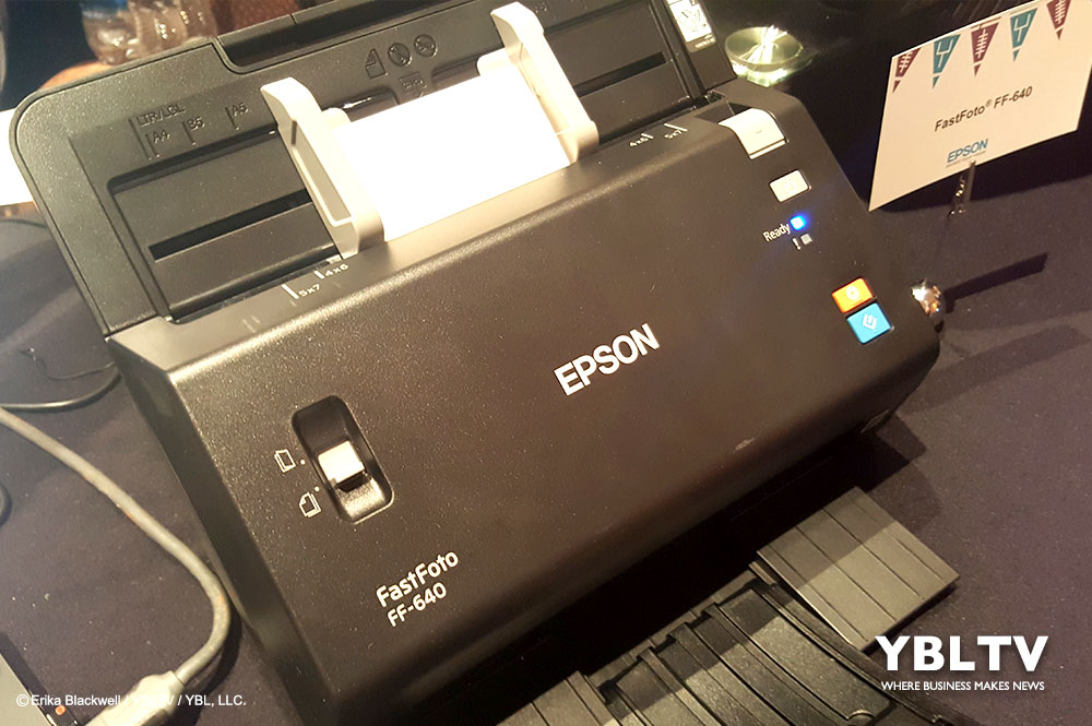 Epson FastFoto FF-640 High-speed Photo Scanning System is another stunner at CES 2018.