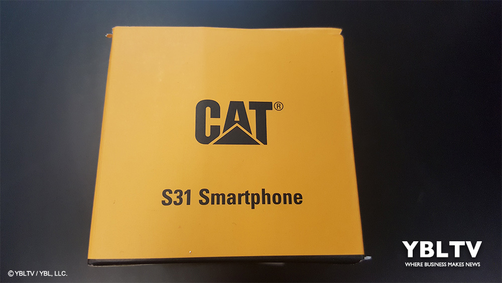 Caterpillar Cat® S31 Smartphone. YBLTV Review by Washington Thompson III.
