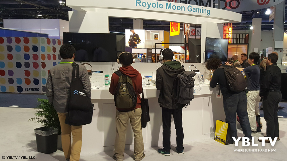 YBLTV Awesome Product: Royole Moon 3D Mobile Theater at CES 208.