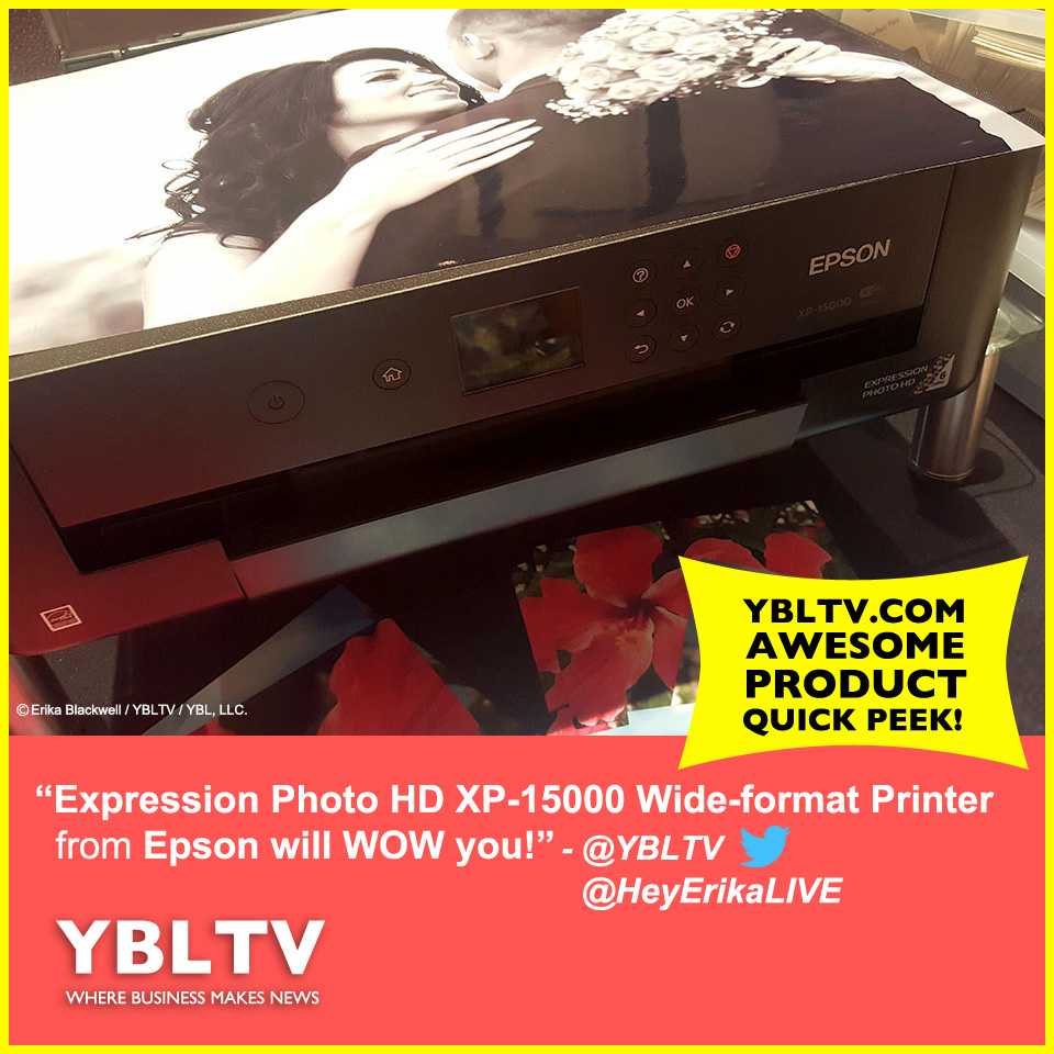 Epson Expression Photo HD XP-15000 Wide-Format Printer.