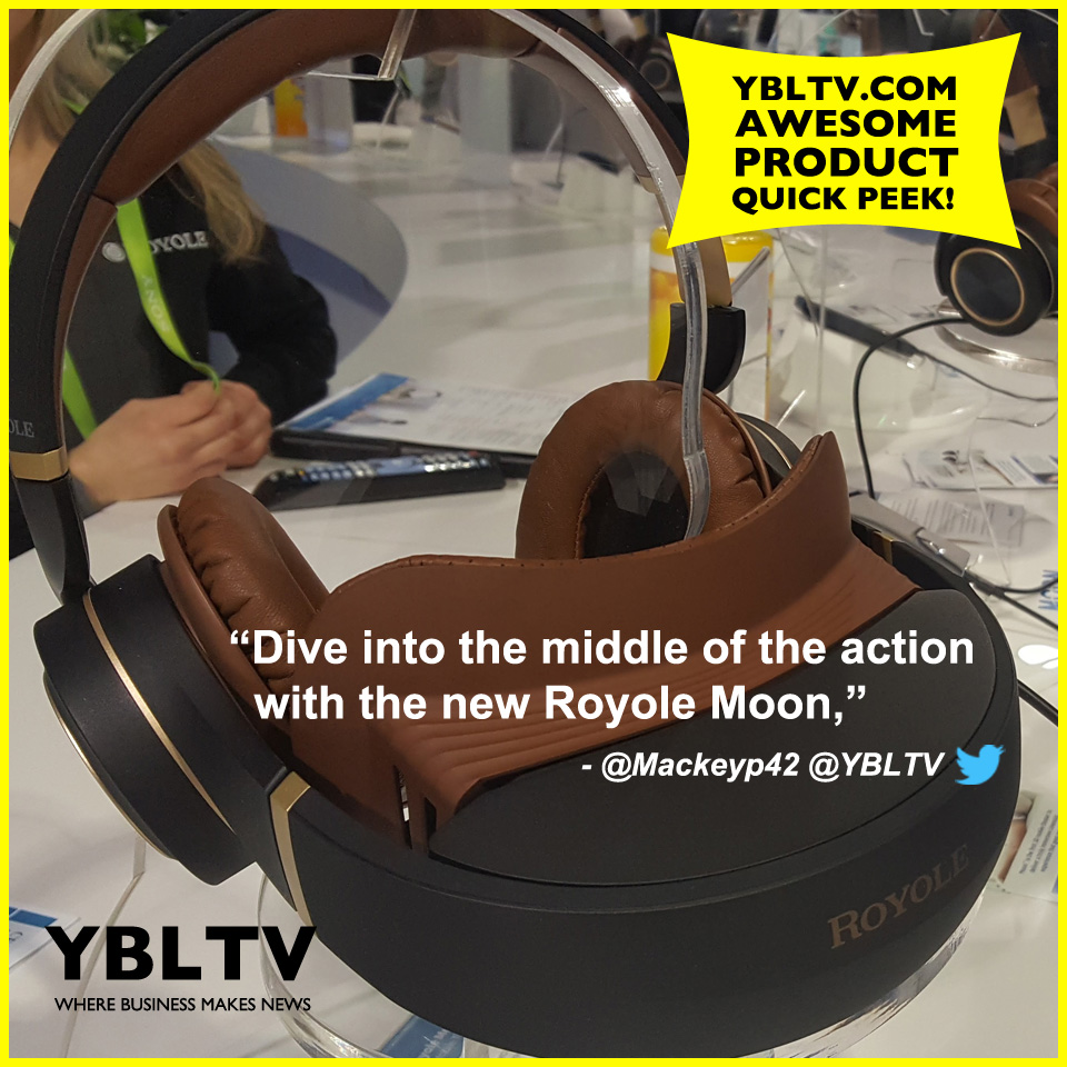 YBLTV Awesome Product: Royole Moon 3D Mobile Theater at CES 2018.