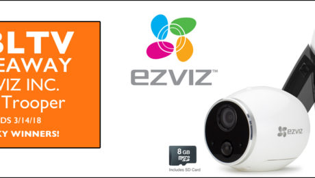 YBLTV Spotlight Product & Giveaway: EZVIZ Mini Trooper.