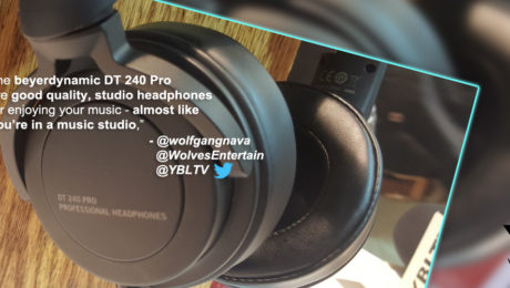 beyerdynamic DT 240 Pro. YBLTV Review by Wolfgang Nava.