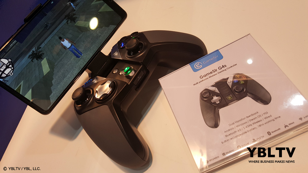 YBLTV Giveaway: GameSir G4s. Review by Wolfgang Nava.