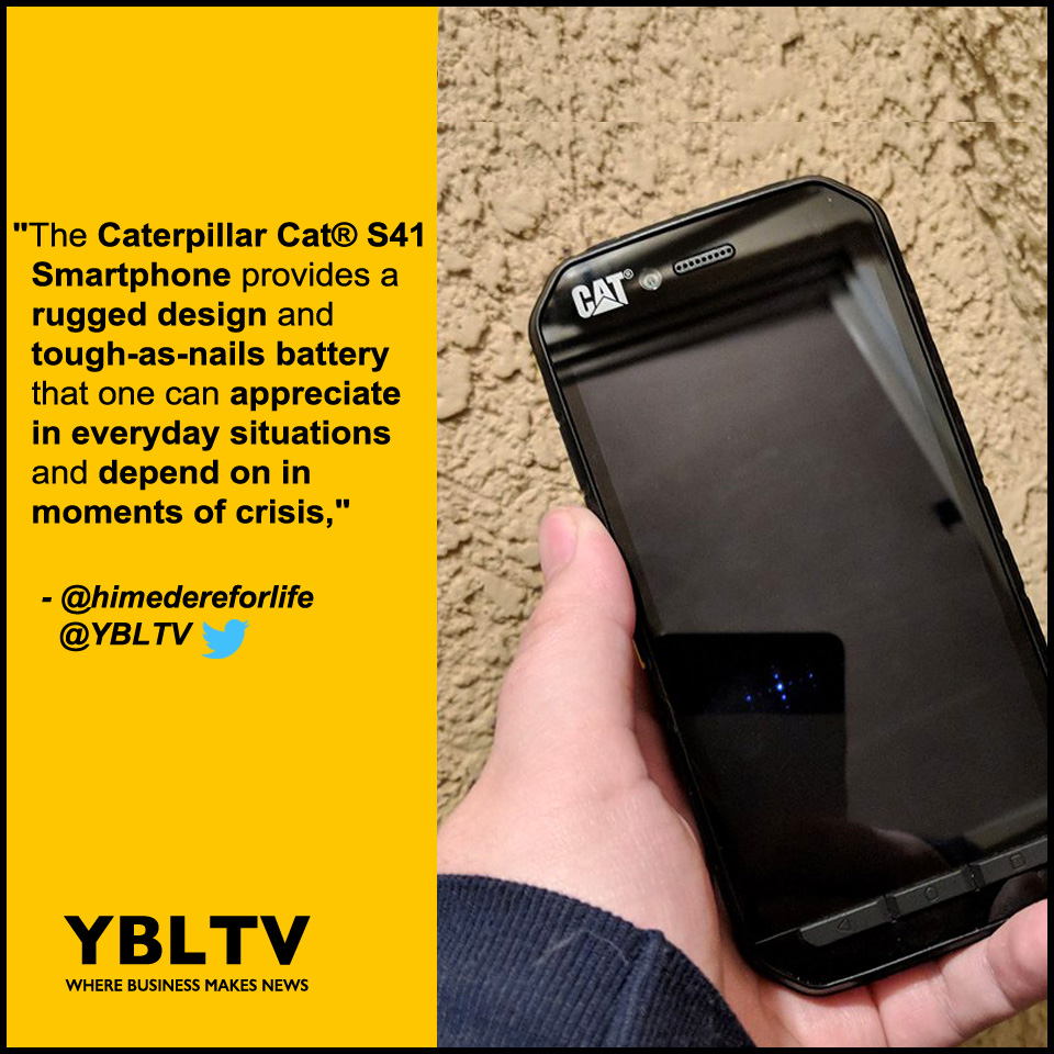 Caterpillar Cat® S41 Smartphone. YBLTV Review by Katie Hernandez.