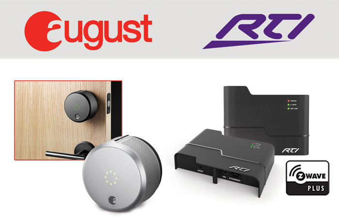 RTI Offers Seamless Integration With Z-Wave Enabled August Smart Lock Pro