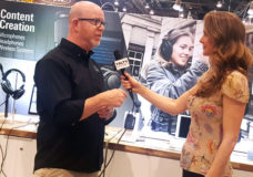 YBLTV Anchor / Writer / Reviewer, Brandy Falconer interviews Audio-Technica, Marketing Director, Gary Boss at NAB 2018.