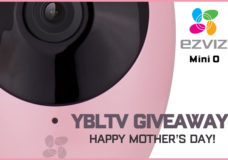YBLTV Mother's Day Giveaway: EZVIZ Mini O