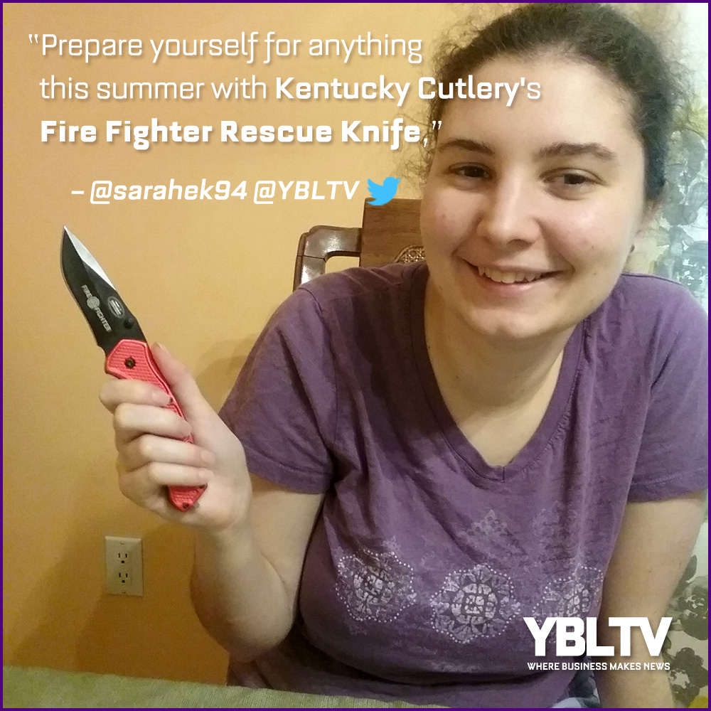 Kentucky Cutlery Firefighter Rescue Knife. YBLTV Review by Sarah Kepins.