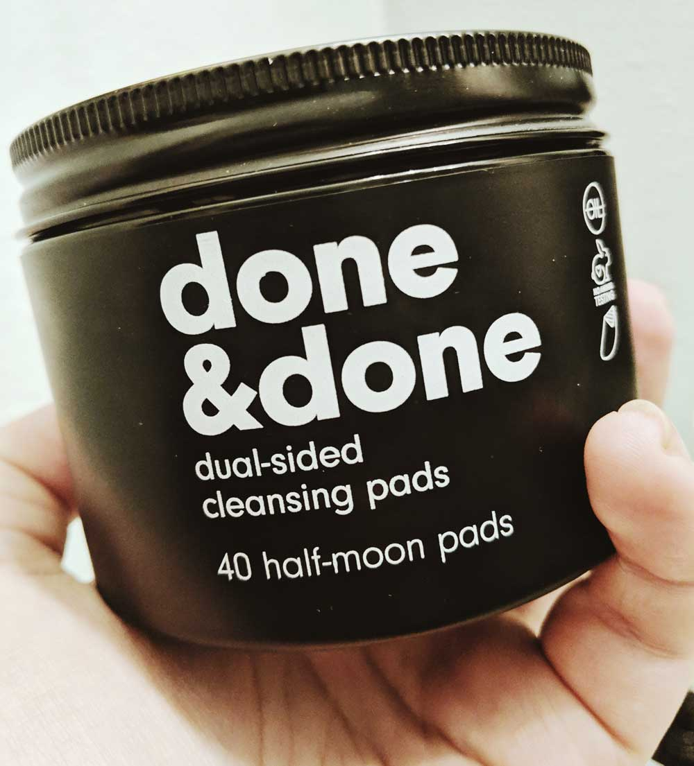 C&C Done & Done Dual-Sided Cleansing Pads. YBLTV Review by Katie Hernandez.