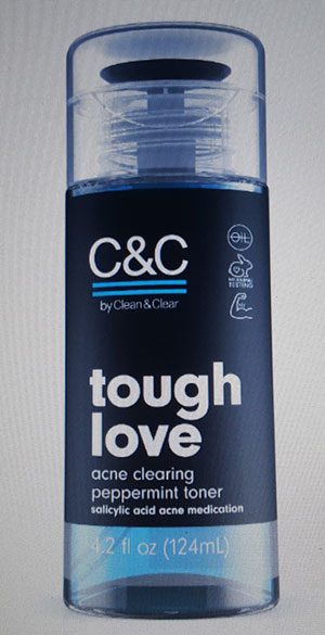C&C Tough Love Acne Clearing Toner. YBLTV Review by Katie Hernandez.