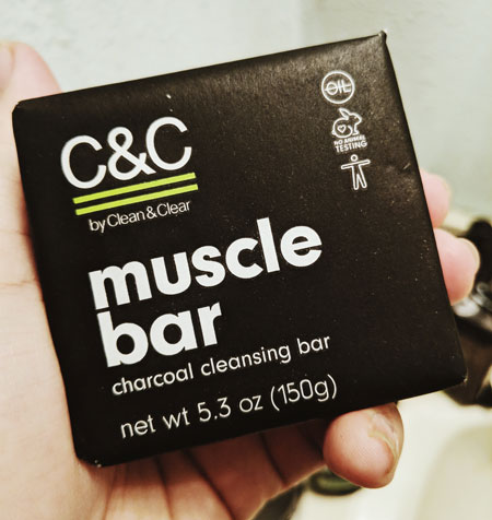 C&C Muscle Bar Charcoal Cleansing Bar. YBLTV Review by Katie Hernandez.