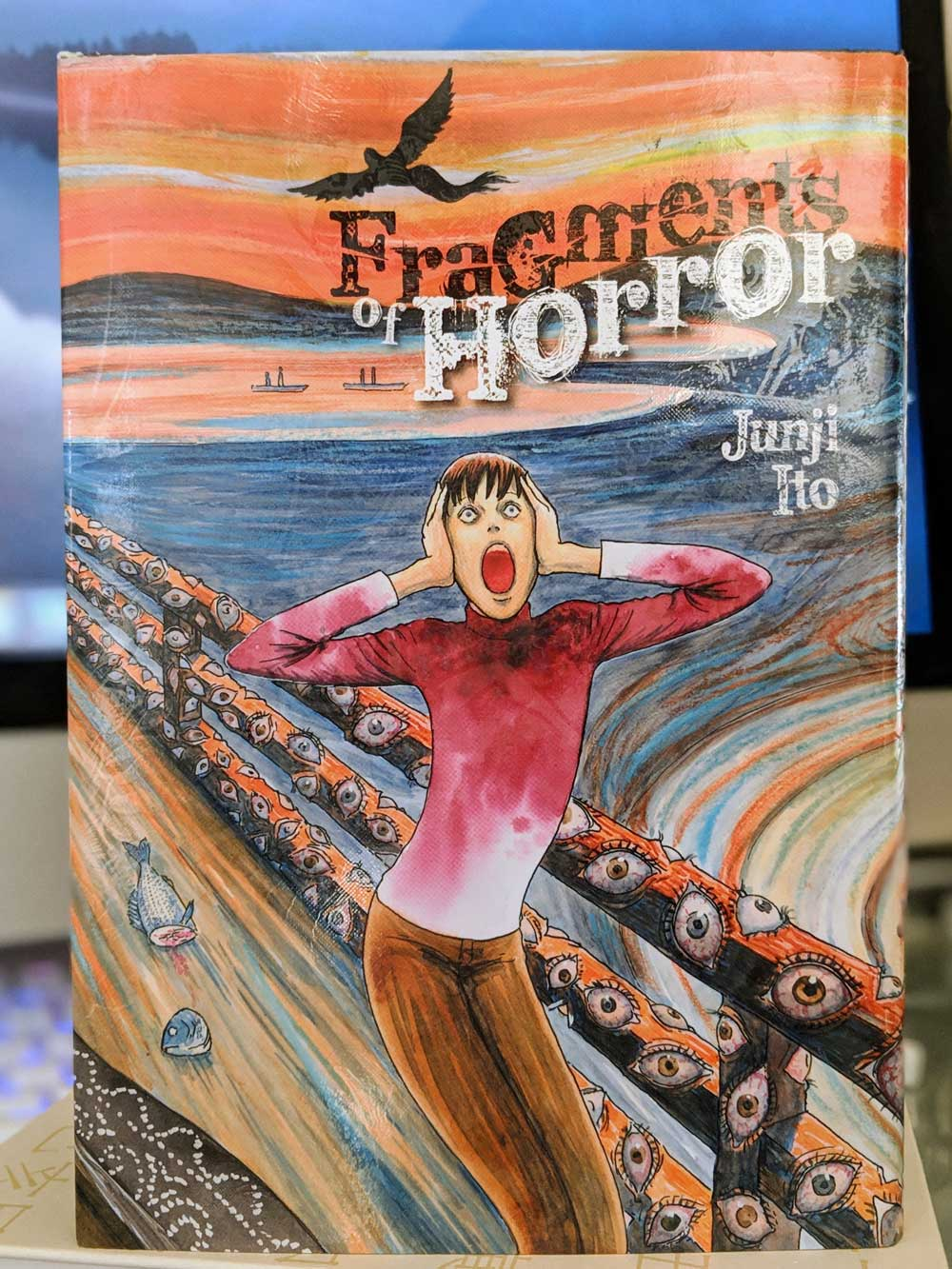 Fragments of Horror by Junji Ito (Distributed in North America by Viz Media). YBLTV Review by Katie Hernandez.