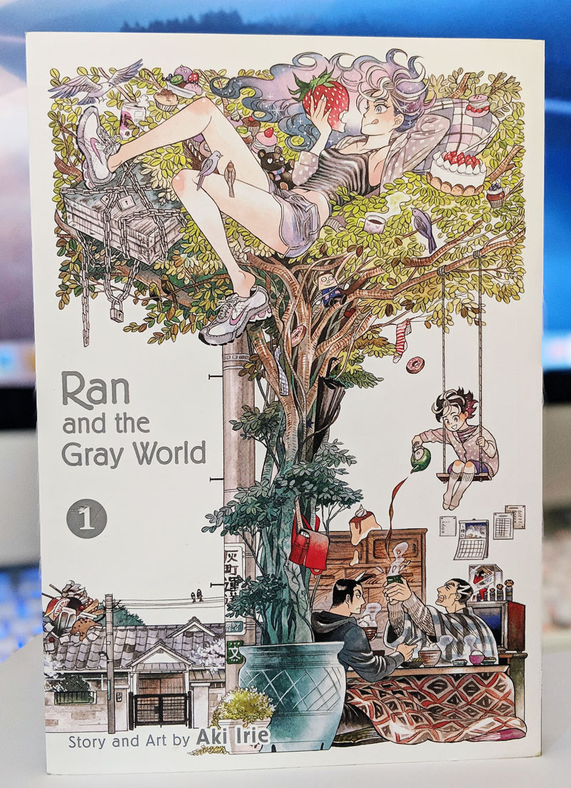 Ran and the Gray World, Volume 1 (Ran to Haiiro no Sekai) by Aki Irie (North American Distribution by Viz Media). YBLTV Review by Katie Hernandez.