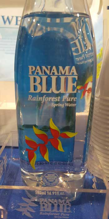 Panama Blue Rainforest Pure Spring Water. YBLTV Review by Erika Blackwell.